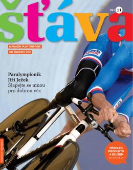 Paralympionik Jiří Ježek Šlapejte se mnou pro dobrou věc