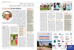 Lymfom Help Golf Tour by Klára Spilková
