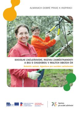 almanach dobré praxe k inspiraci sociální začleňování, rozvoj