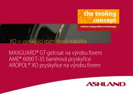 MAXGUARD® GT gelcoat na výrobu forem AME® 6000 T