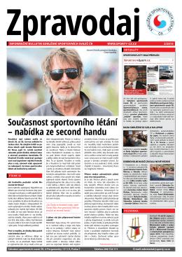 SSS 2/2015 - Svaz potápěčů České republiky