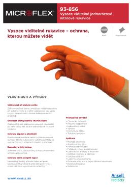 Vysoce viditelné rukavice – ochrana, kterou můžete vidět