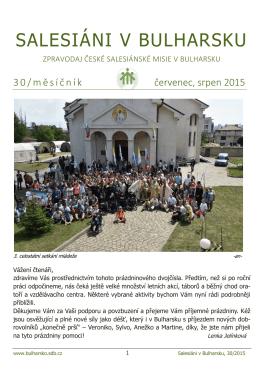 srpen 2015 - Postav školu a kostel Salesiánské misie v Bulharsku
