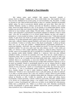 Slabikář a Encyklopedie
