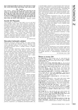 Řešení diagramů 213 - Československý šach