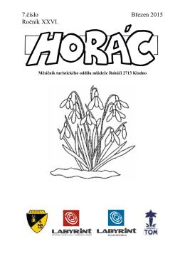 7.číslo Březen 2015 Ročník XXVI.