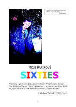 Moje papírové sixties