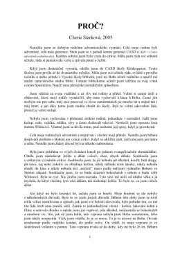 Svědectví Ch.Starkové a B. Fisherové (PDF