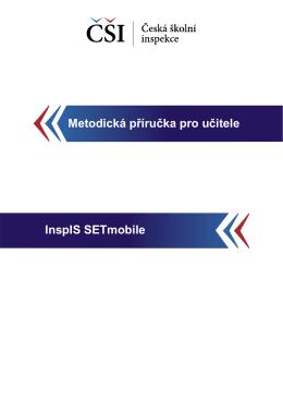 InspIS SETmobile - Česká školní inspekce