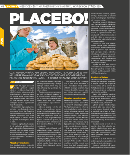 PDF odkaz na článek Placebo!