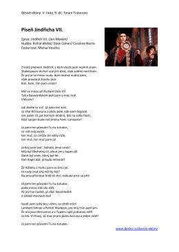 Píseň Jindřicha VII.