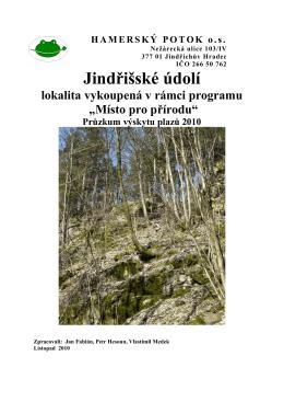 průzkum plazů (2010) ke stažení v pdf