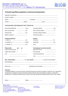 Poptavkovy formular_kompenzatory