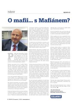 O mafii s mafiánem - ŽIŽLAVSKÝ, advokátní kancelář