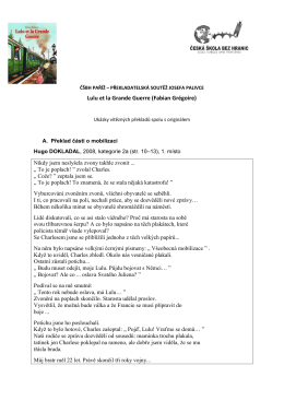 Uryvky viteznych prekladu