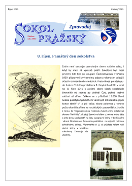 6 říjen 2015 - Sokol Pražský