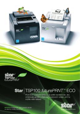 TSP100Eco FuturePRNT brožura