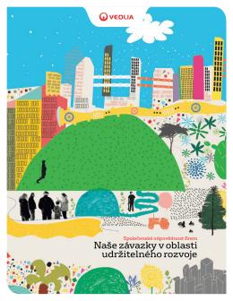 Naše závazky v oblasti udržitelného rozvoje