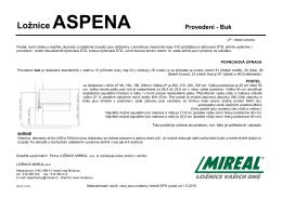 Ložnice ASPENA