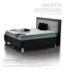 Böhm Madison postel boxspring
