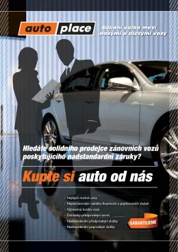 informační leták o kvalitě našich vozů v PDF