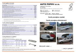 AUTO POPOV s.r.o.