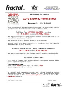 AUTO-SALON & MOTOR SHOW