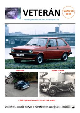 Veterán je každé staré auto, které máme rádi Reportáže Z