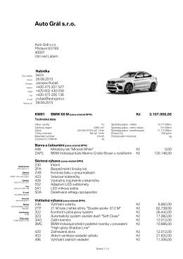 X6M - Auto Grál