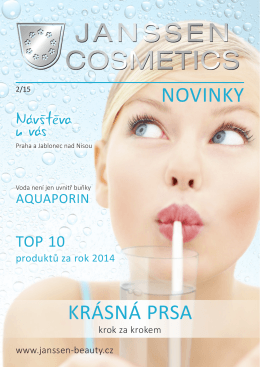 Stáhnout PDF - Janssen cosmetics