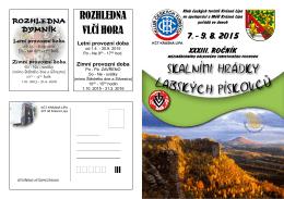 SKALNÍMI HRÁDKY - Klub českých turistů Krásná Lípa