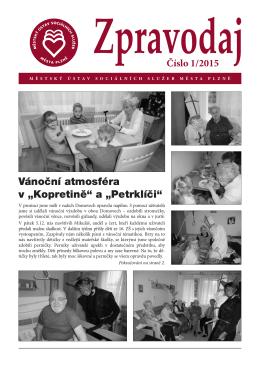 Vánoční atmosféra v - Městský ústav sociálních služeb města Plzně