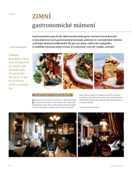 Gurmet, PDF - U Staré studny