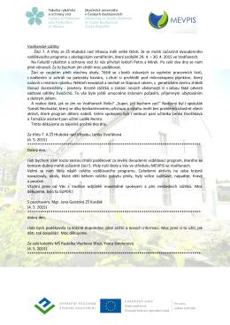 Prezenční listina workshopu B4I