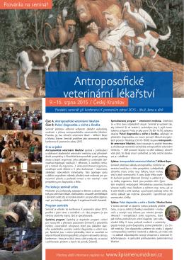 Antroposofické veterinární lékařství