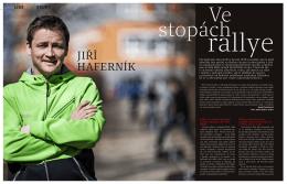 magazín Velo – rozhovor s Jiřím Haferníkem