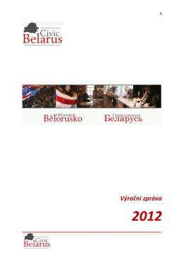 Výroční zpráva za rok 2012