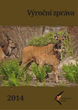 Výroční zpráva 2014 - Derbianus Conservation