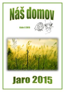 číslo 1/2015 - Domov pro seniory Heřmanův Městec
