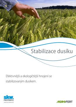Stabilizace dusíku - SKW Stickstoffwerke Piesteritz GmbH