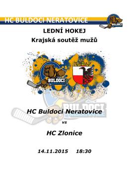 Zpravodaj 14.11.2015 - HC Buldoci Neratovice