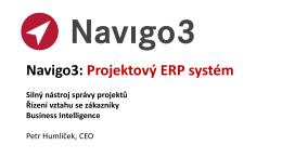 Navigo3: Project