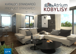 PRODUCT STANDARDS KATALOG STANDARDŮ