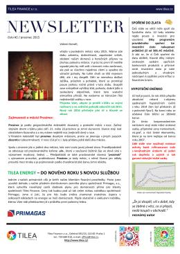 Newsletter 12/2015