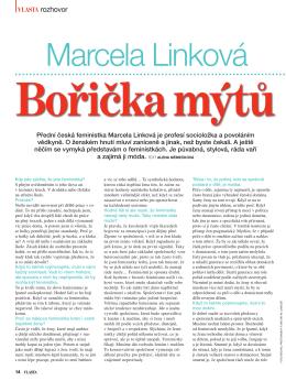 Marcela Linková ve Vlastě