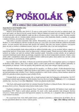 POŠKOLÁK č. 53 (26. červen 2015)
