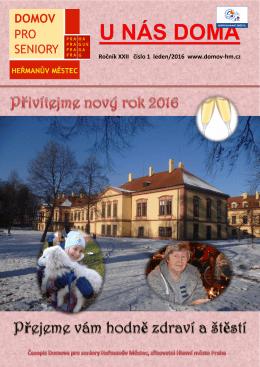 U nás doma 2016/01 - Domov pro seniory Heřmanův Městec