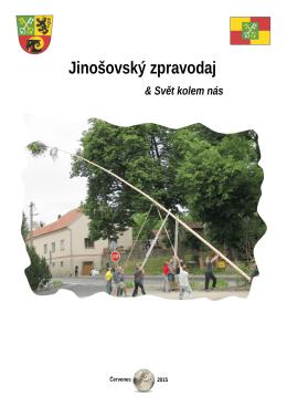 2. číslo časopisu Jinošovský zpravodaj