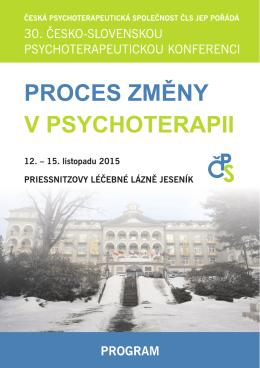 zde - Psychoterapeutická konference