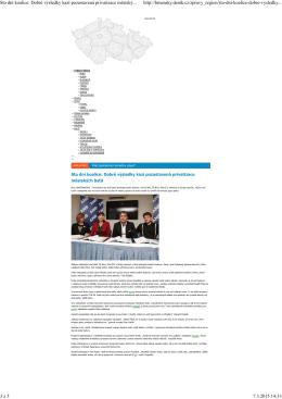 Sto dní koalice: Dobré výsledky kazí pozastavená